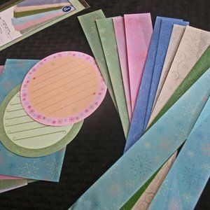 CREATIVE MEMORIES -Whimsy Strips and Cheer Open Ho